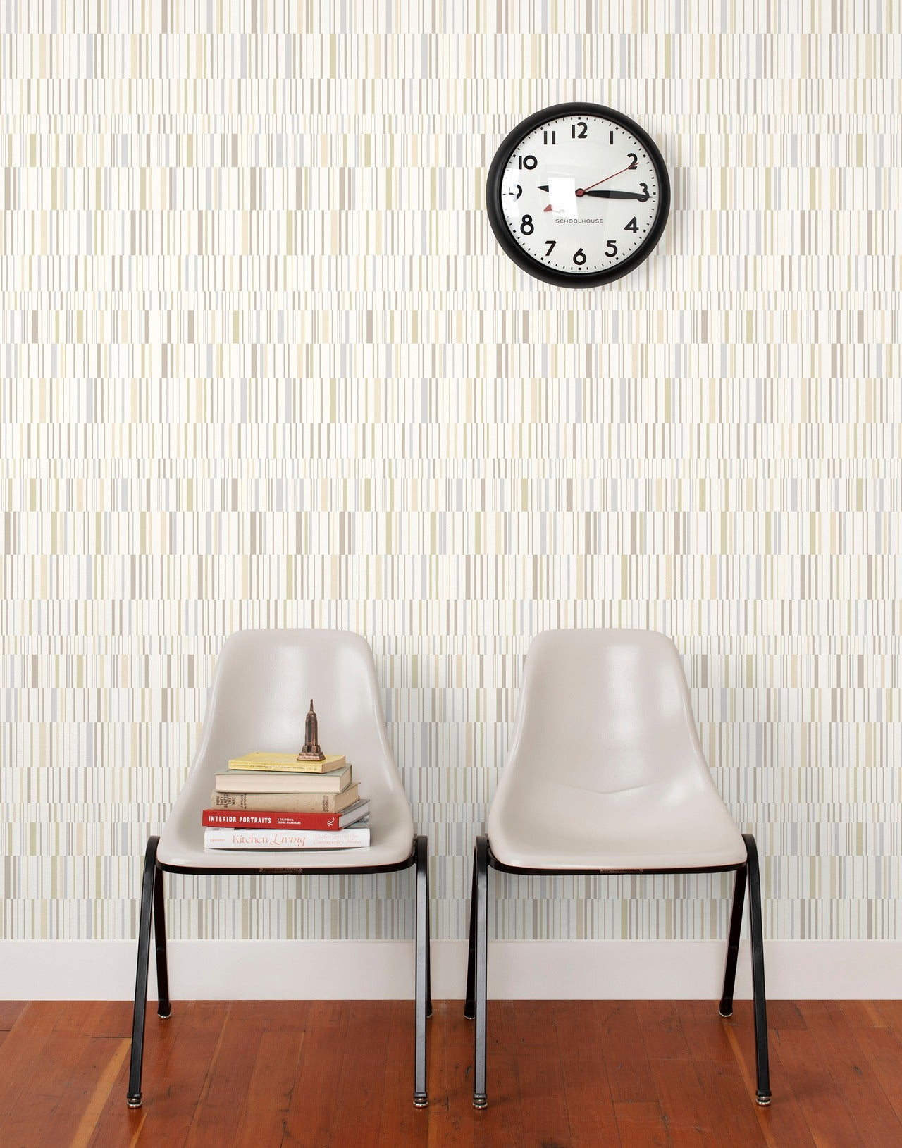 Match wallpaper in White by Schoolhouse + Hygge & West