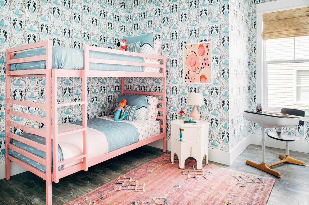 Mermaids Ocean wallpaper | Dinara Mirtalipova | Hygge & West