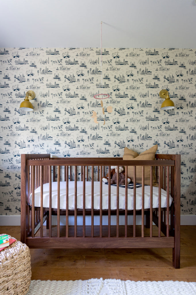 Cities Toile Nursery