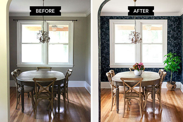 Before & After: Garden Dining