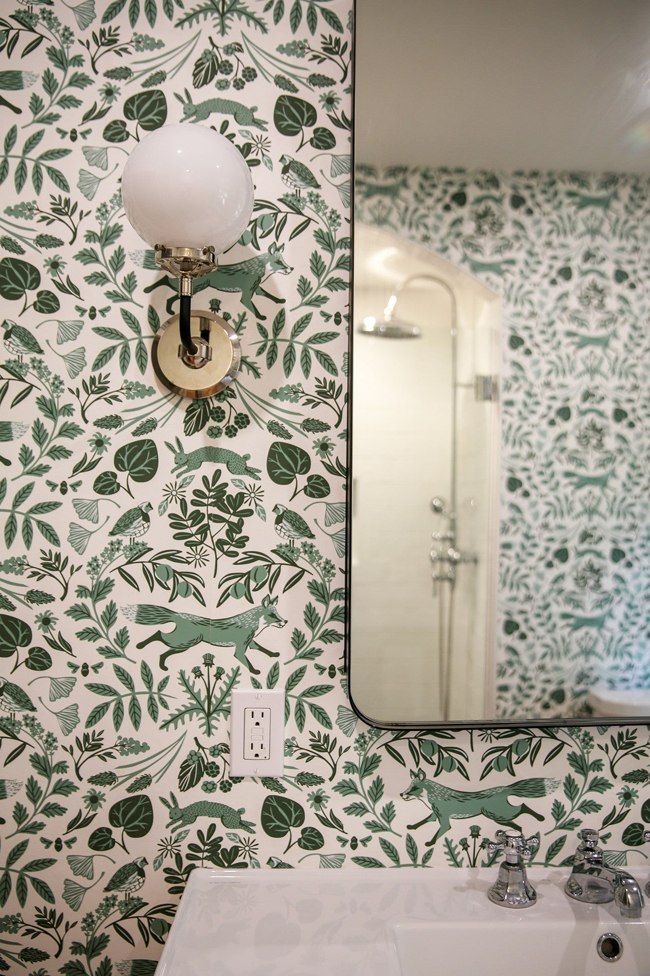 Piedmont (Pine) Powder Room | Before & After | Hygge & West