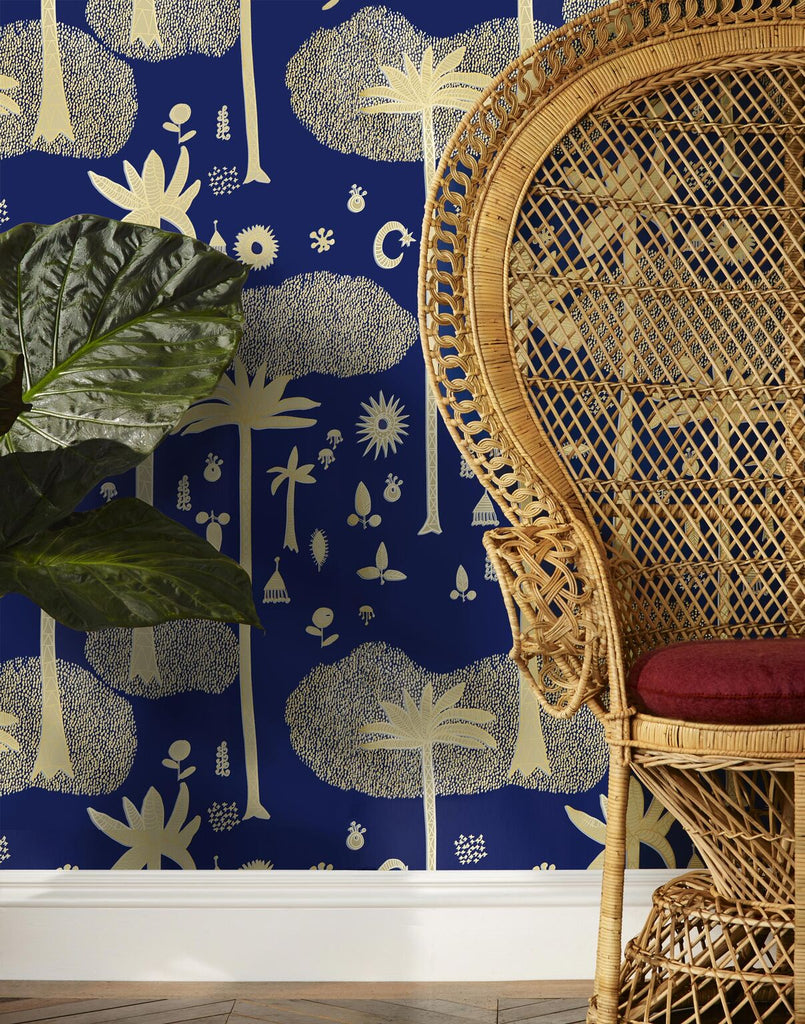 The Jungalow is in the Details Hygge and West Wallpaper ...