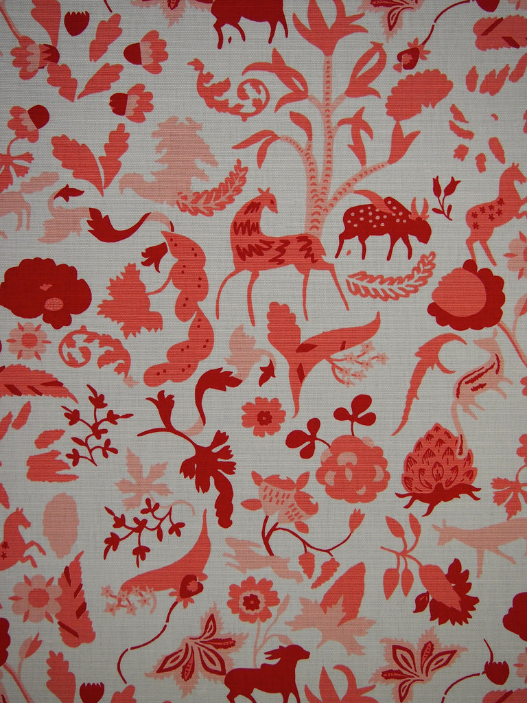 Printing Foret (Coral)