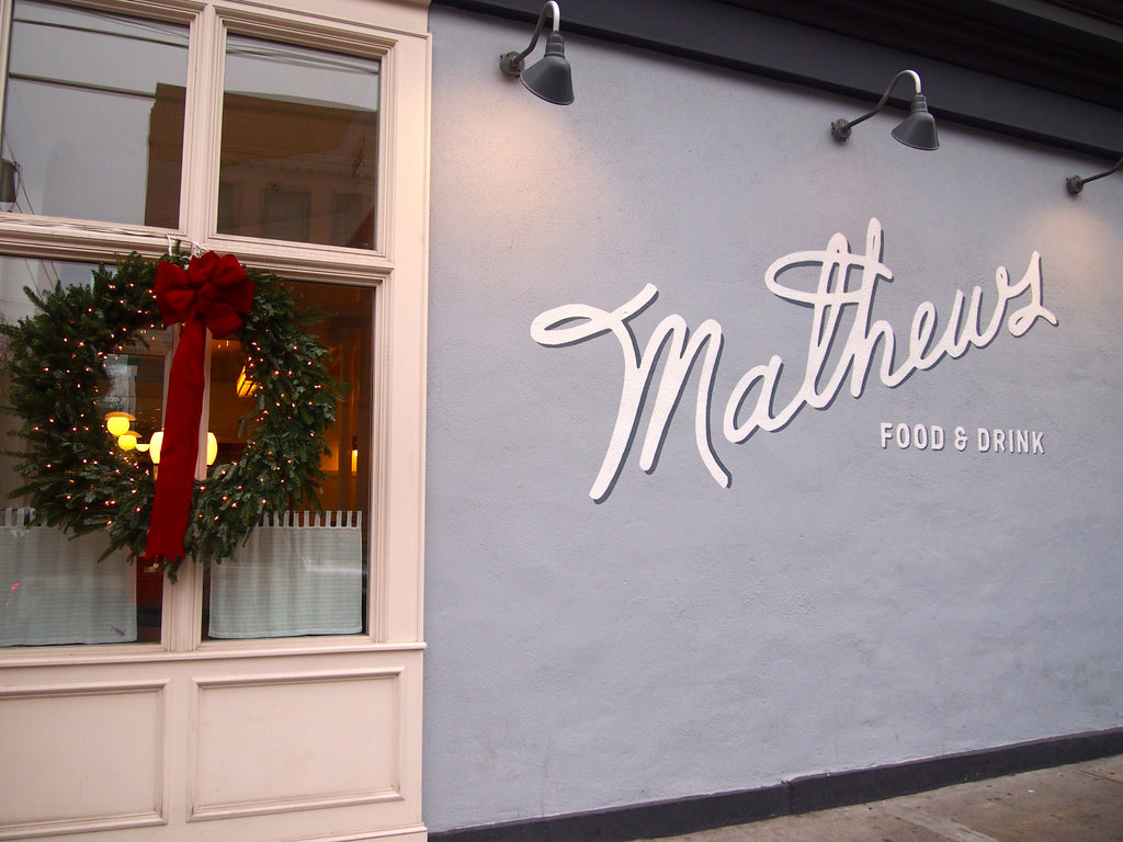 Pattern Players: Mateusz Kopec of Mathews Food and Drink
