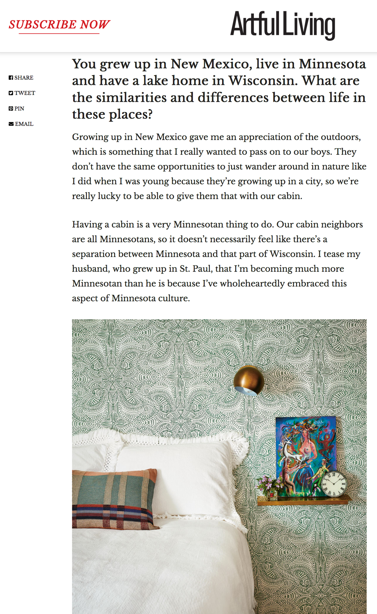 Artful Living Magazine | Hygge & West Home Book