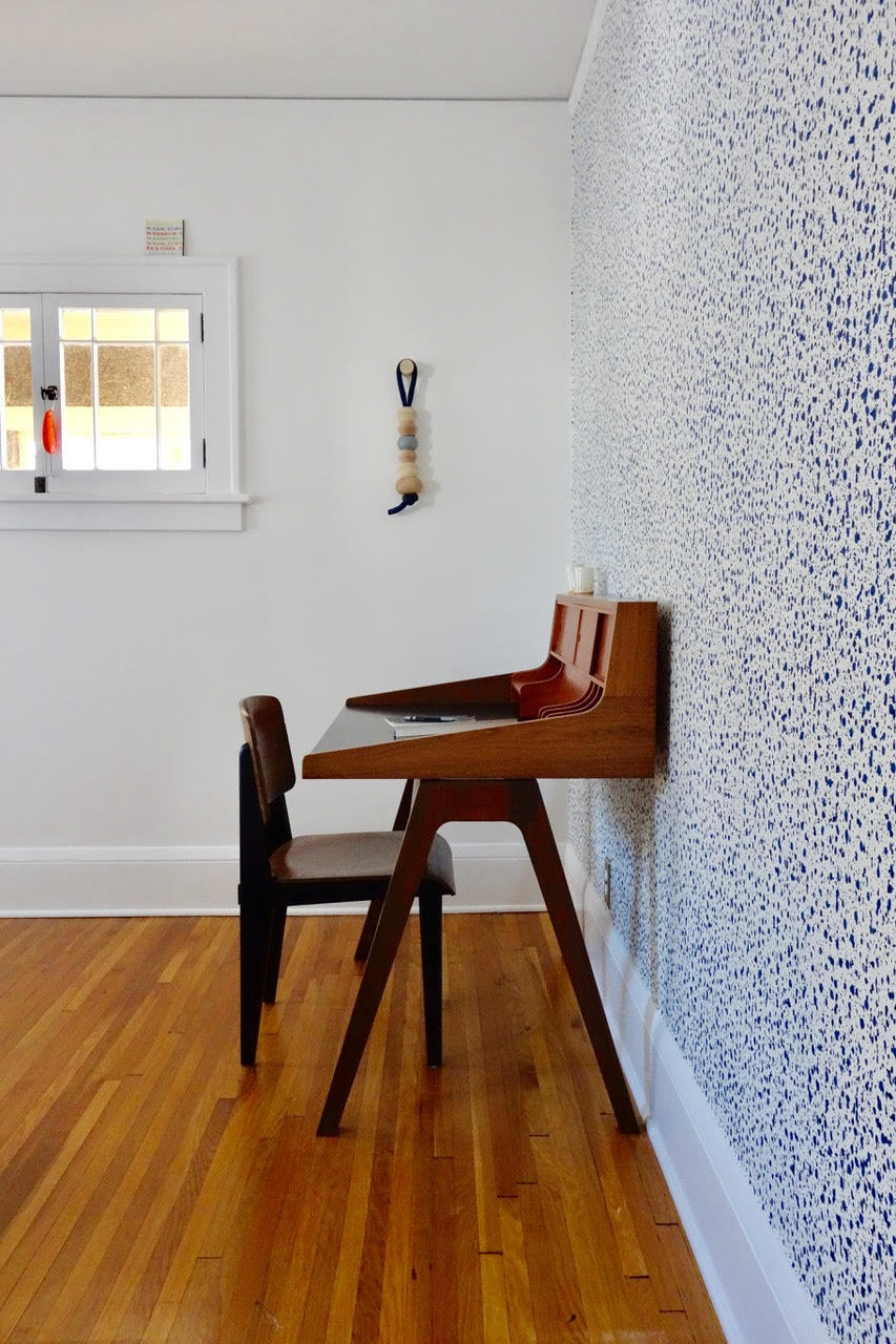 Product + Pattern: Scott McGlasson | Woodsport | Snow Blue wallpaper | Askov Finlayson | Hygge & West