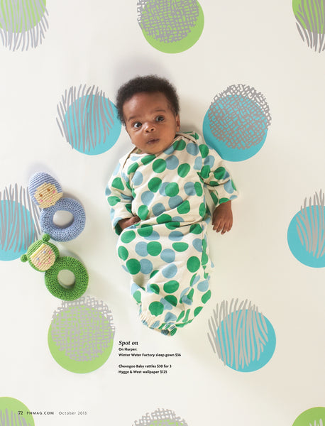 Biscayne Dots Fit for a Baby