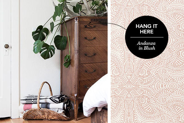 Hang It Here: Andanza in Blush