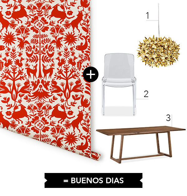 Wallpaper + 3: Otomi Breakfast Nook