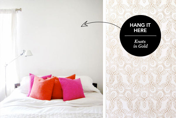 Hang it Here: Knots in Gold