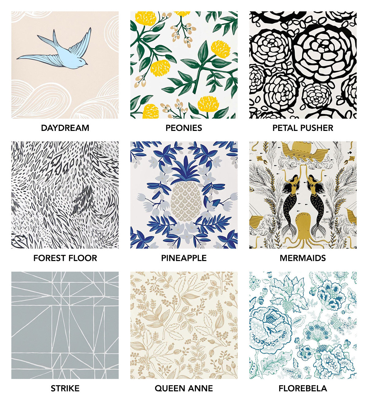 Best Wallpapers for a Ceiling Roundup