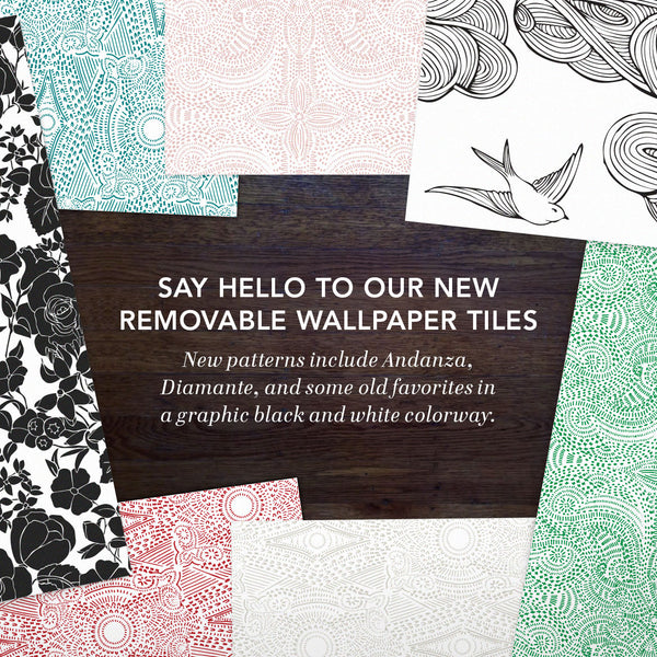 New: Removable Wallpapers!