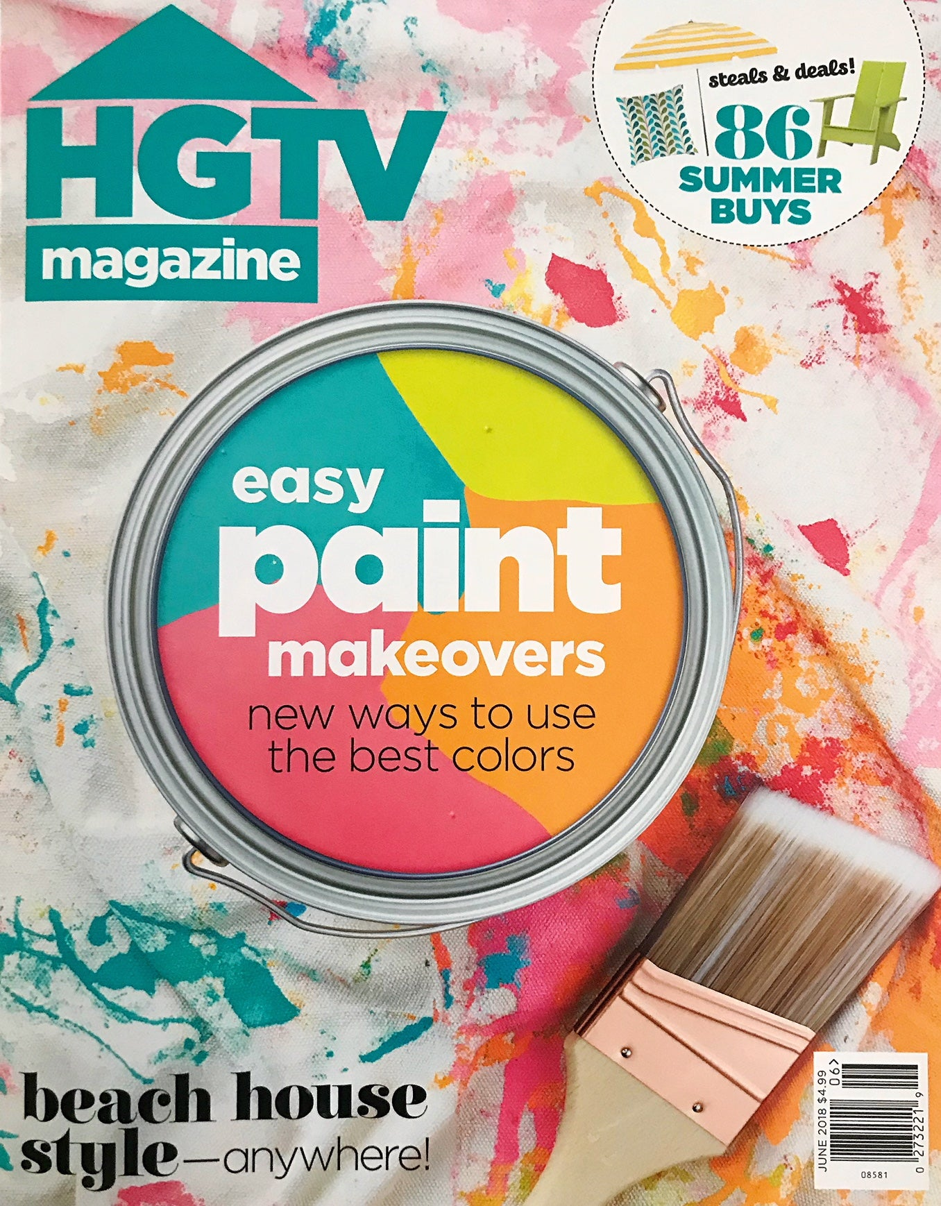 HGTV Magazine Cover | Hot off the Press