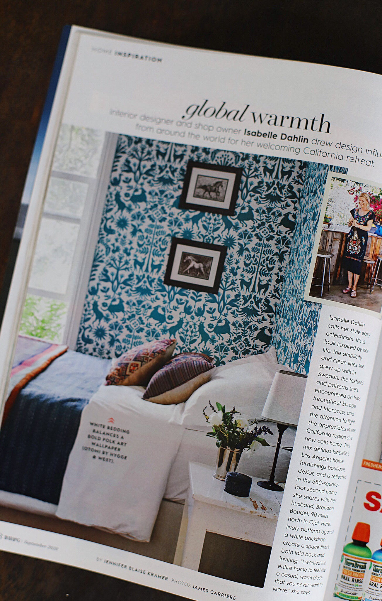 Better Homes & Gardens | Otomi Wallpaper | Hygge & West Home