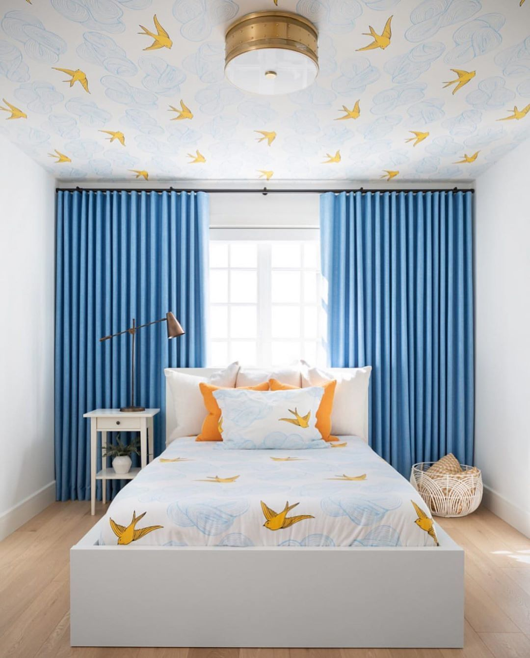 Daydream Sunshine wallpaper and bedding | Julia Rothman | Hygge & West