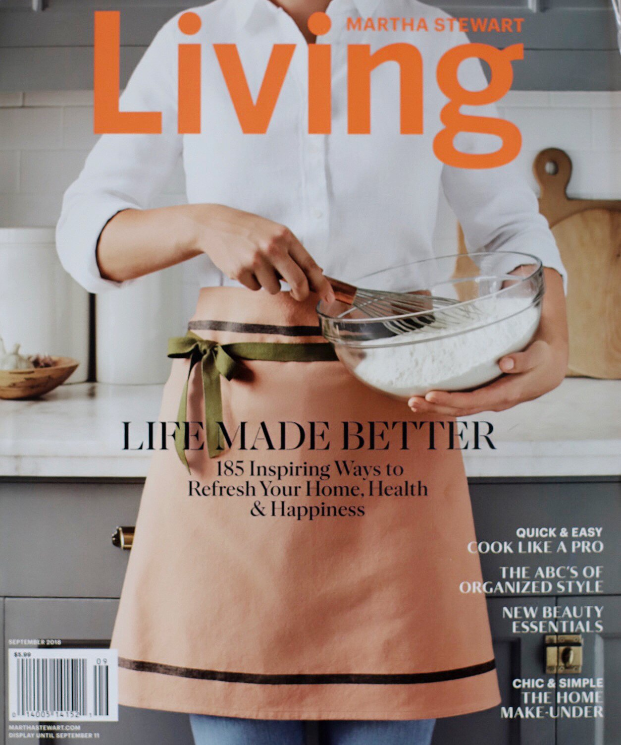 Martha Stewart Living Cover | Hygge & West Home Press