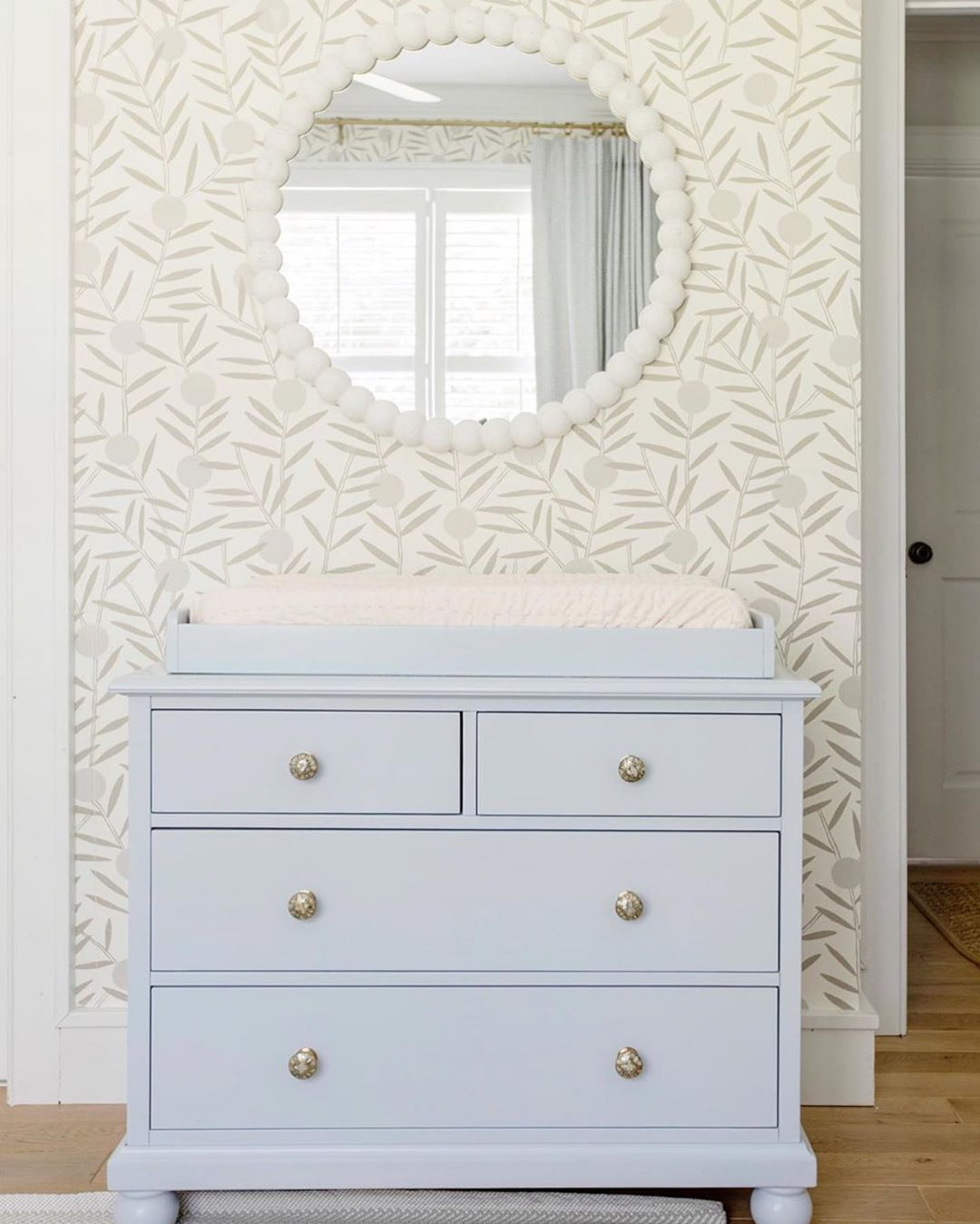 Bloom Taupe wallpaper | Emily Isabella | Hygge & West