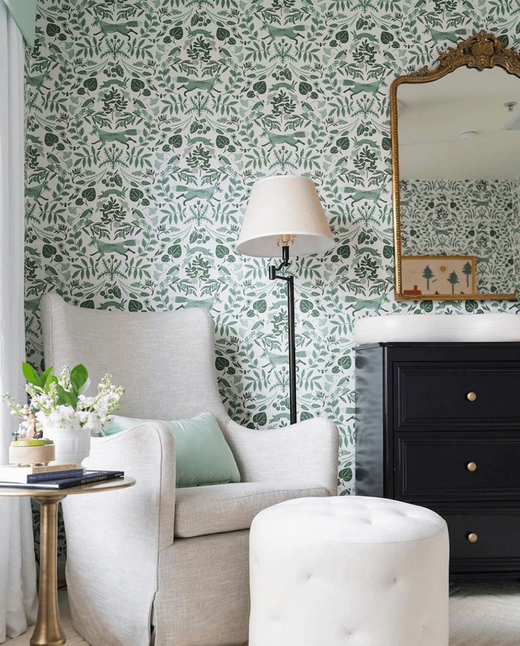 Piedmont Pine wallpaper | Helmsie | Hygge & West