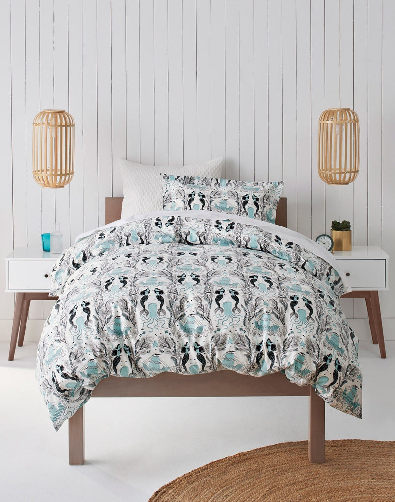 Spring/Summer '19 collection | Mermaids Ocean bedding | Dinara Mirtalipova | Hygge & West