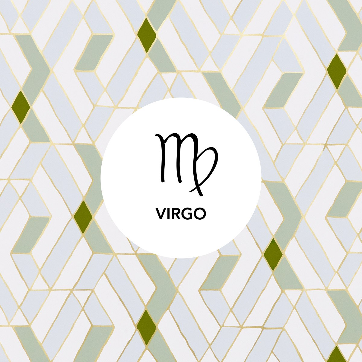 Virgo | Quilt Celadon wallpaper | Heath Ceramics | Hygge & West