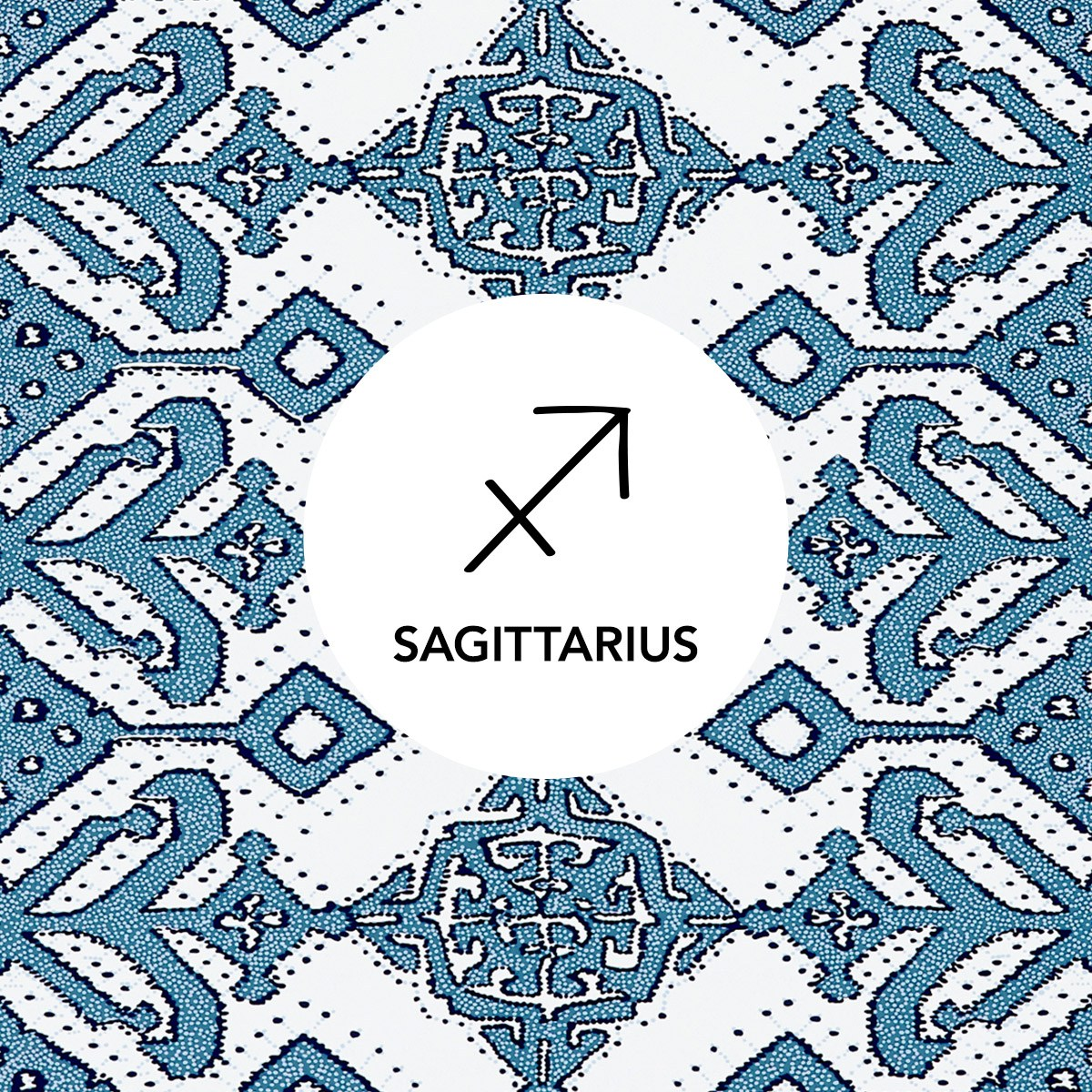 Sagittarius | Pombal Navy wallpaper | Tilton Fenwick | Hygge & West