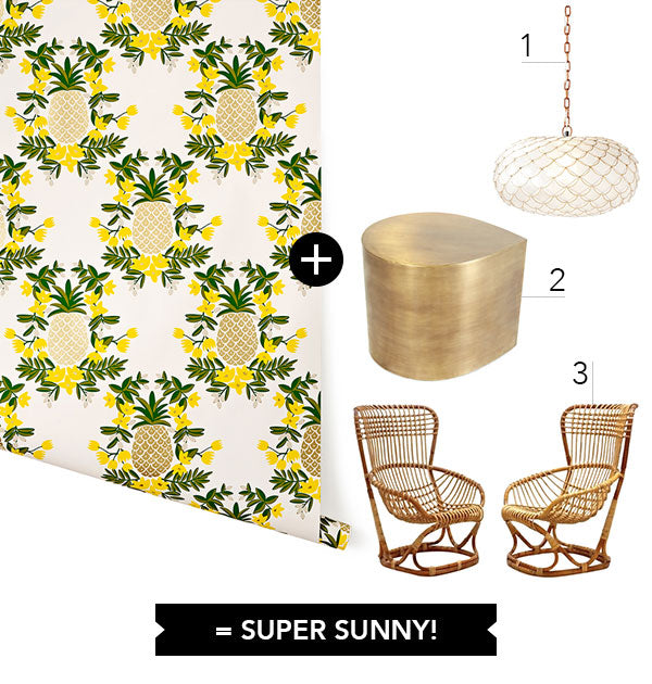 Wallpaper + 3: Super Sunny Sunroom
