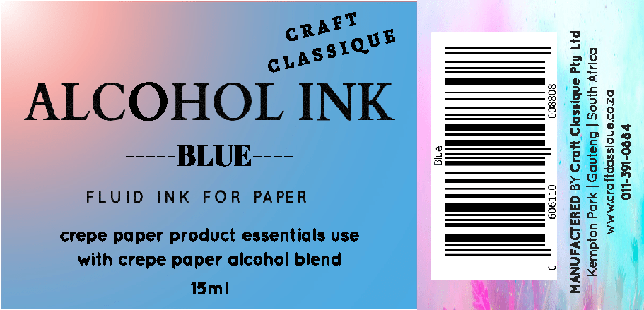 Blue | Alcohol Ink