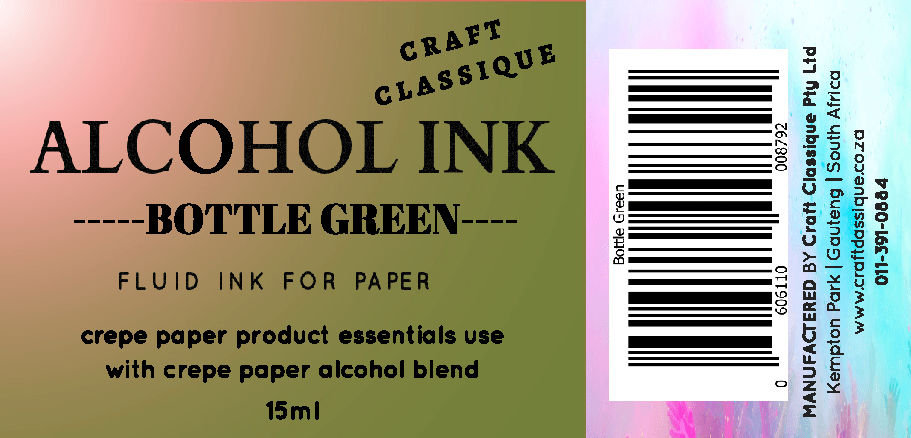 Bottle Green | Alcohol Ink
