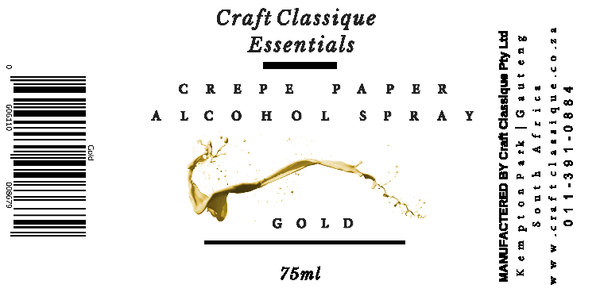 Gold | Alcohol Spray