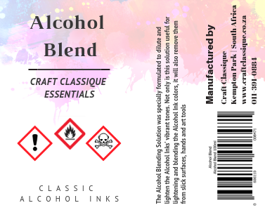 Alcohol Blend | Alcohol Ink