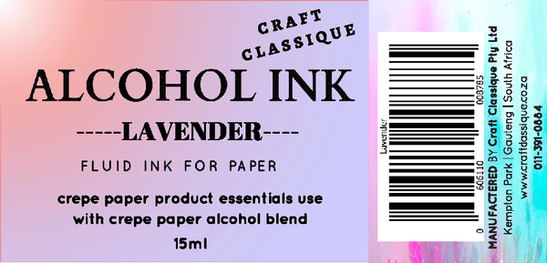 Lavender | Alcohol Ink