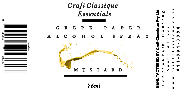 Mustard | Alcohol Spray