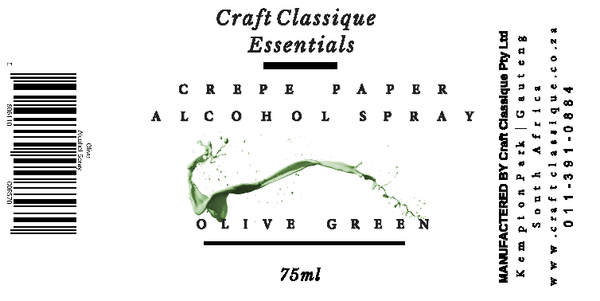 Olive Green | Alcohol Spray