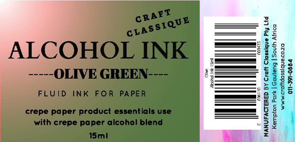 Olive Green | Alcohol Ink