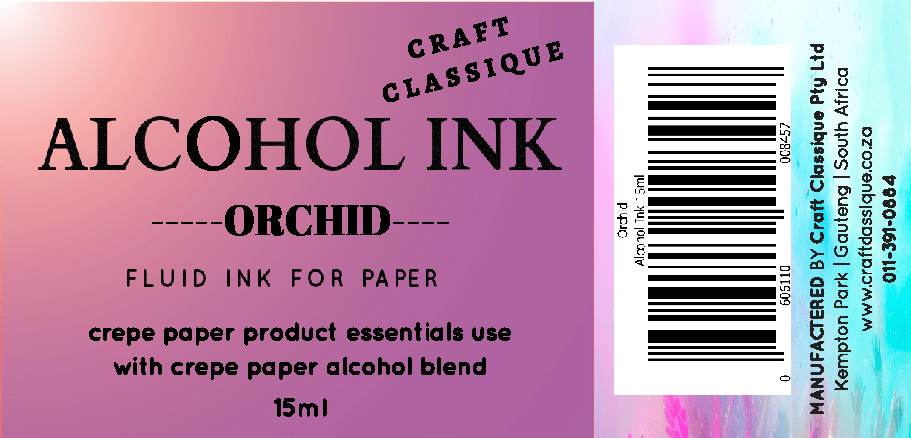 Orchid | Alcohol Ink