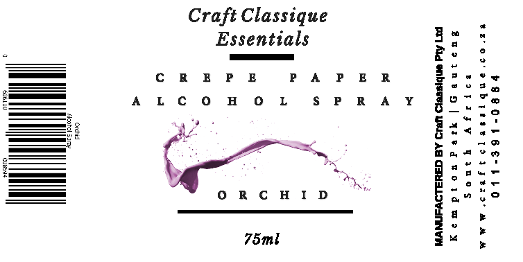 Orchid | Alcohol Spray
