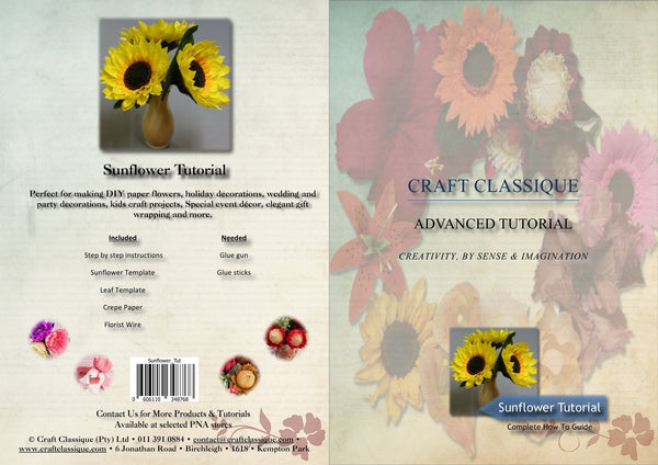 Sunflower - Tutorial - Craft Classique Pty Ltd