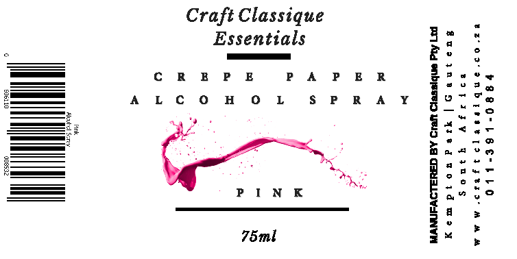 Pink | Alcohol Spray