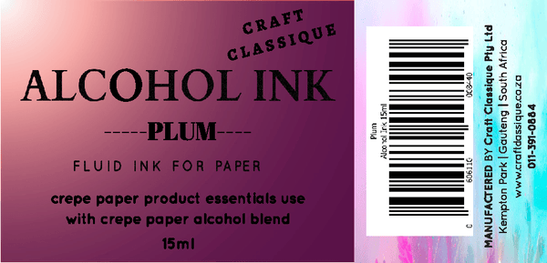 Plum | Alcohol Ink