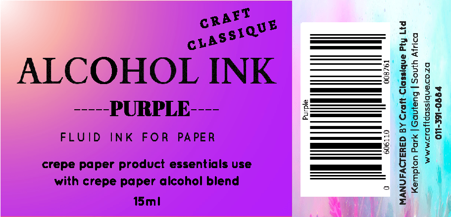 Purple | Alcohol Ink