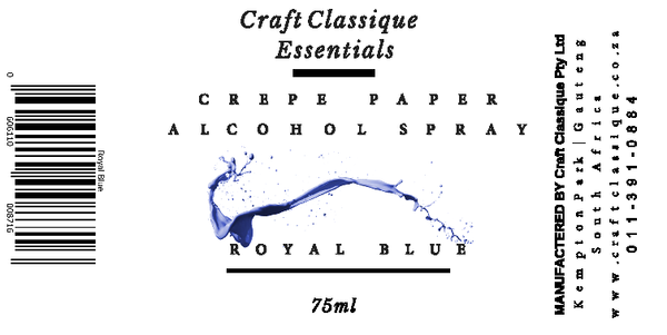 Royal blue | Alcohol Spray