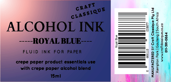 Royal Blue | Alcohol Ink