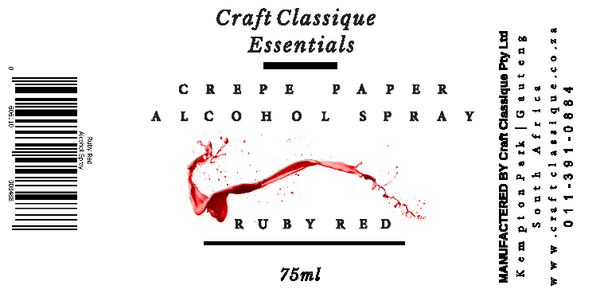 Ruby Red | Alcohol Spray