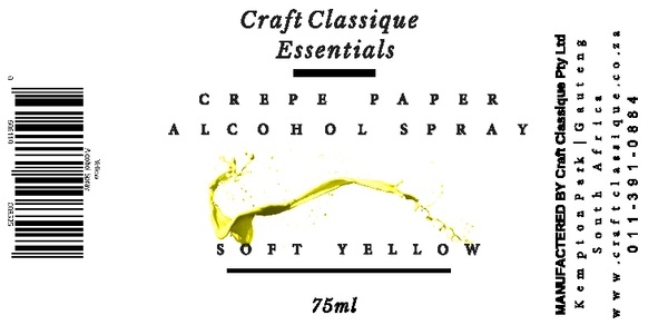 Soft yellow | Alcohol Spray