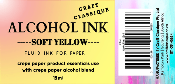 Soft Yellow | Alcohol Ink