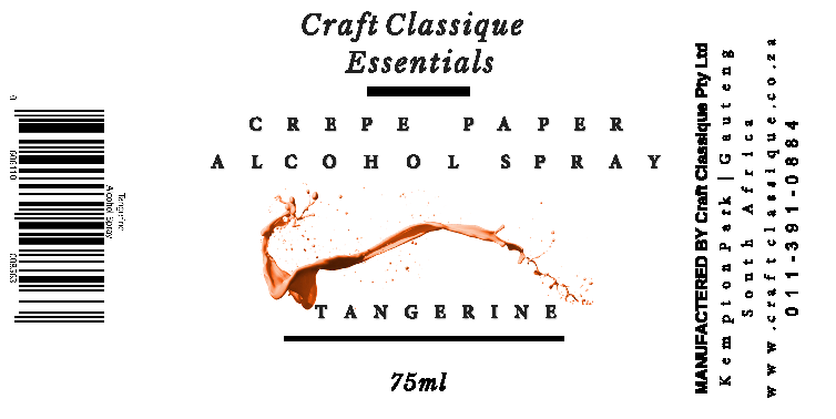 Tangerine | Alcohol Spray