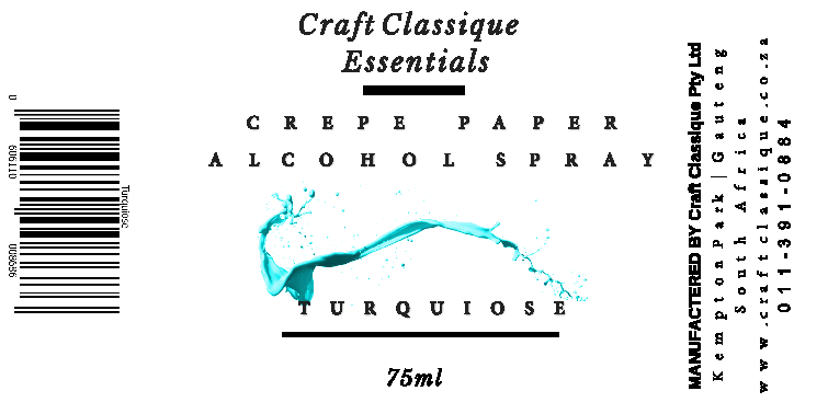 Turquoise | Alcohol Spray