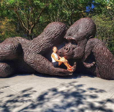 When a Gorilla sculpture lands in Hudson Yards, does anyone care?