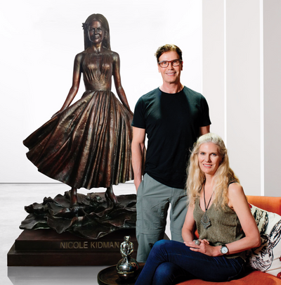 Why this Australian couple want more statues of women in our cities