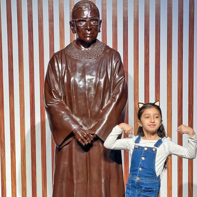 Ruth Bader Ginsburg statue unveiled in Brooklyn honors Women's History Month, 88th birthday